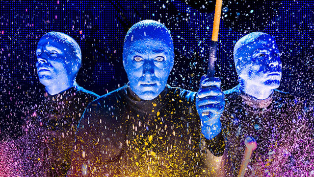 Шоу Blue Man Group в Лас-Вегасе